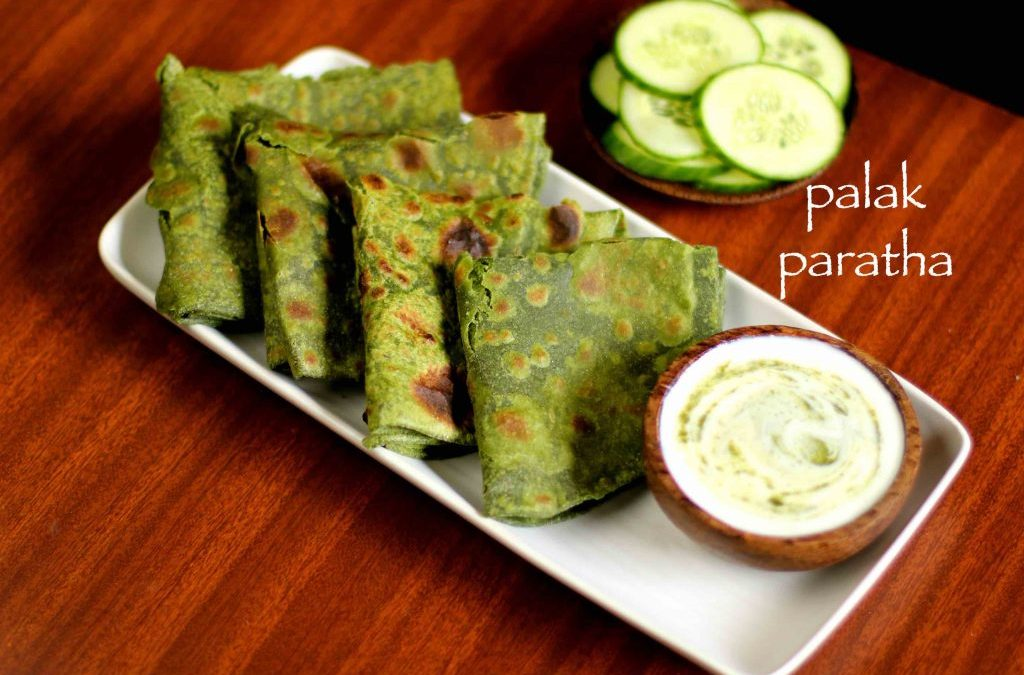 Pain aux épinards (Palak ka paratha)